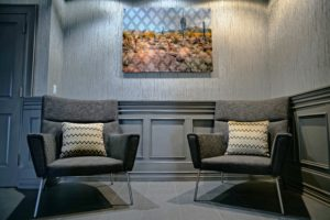 Seating in the Foyer